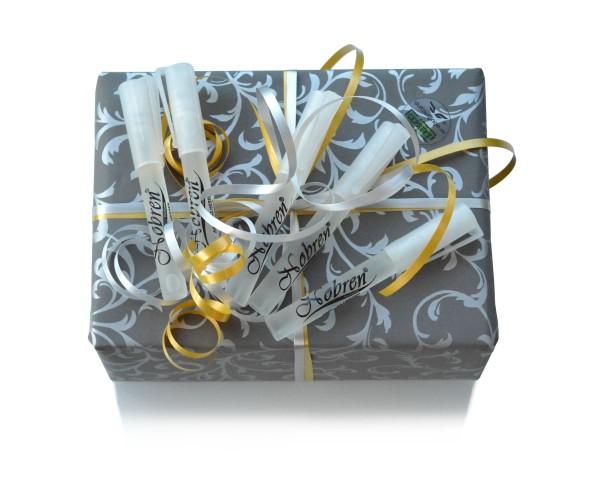 GeschenkBox für HERREN 10x 8ml EdP Überraschungspaket Parfüm-Schnupperbox