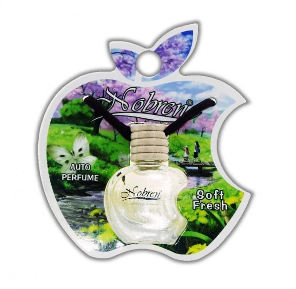 Autoduft SOFT FRESH Nobren Auto Parfüm Raumduft Lufterfrischer Duft für Fahrzeuge mit Hängeflasche