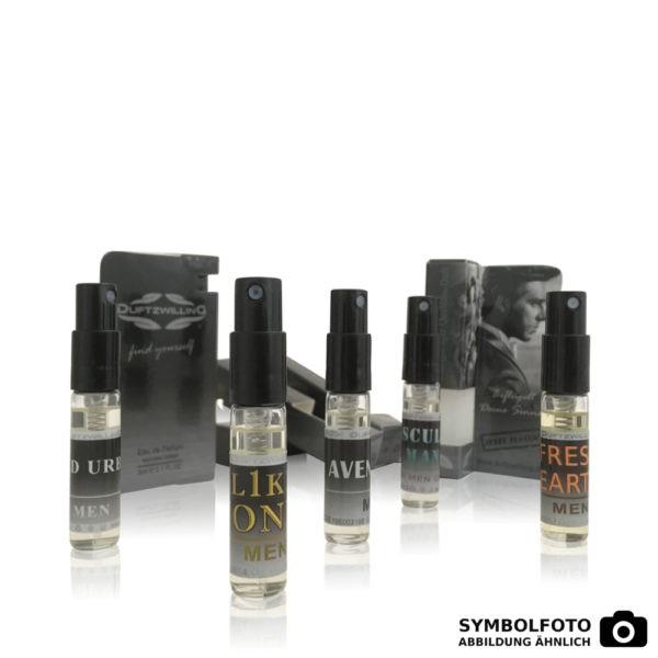 5 Duftproben für HERREN á 3ml Tester von DuftzwillinG Parfums Parfümproben | 5er Kennenlern-Set