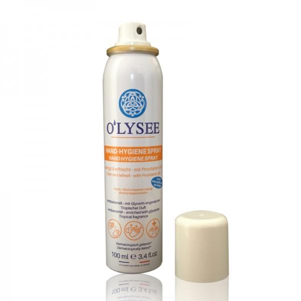 O'LYSEE 100ml Hand-Hygiene Spray - kleine Hygienespray-Sprüh-Dose für unterwegs
