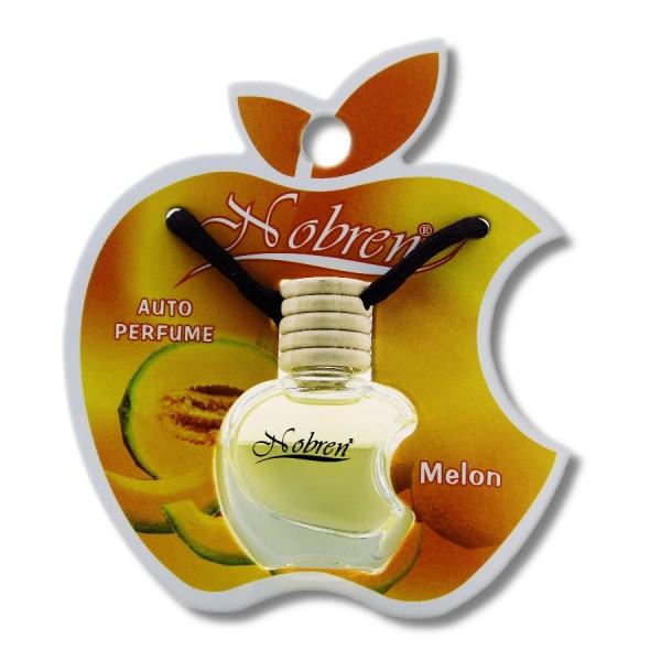 Autoduft MELONE Nobren Auto Parfüm Raumduft Lufterfrischer Duft für Fahrzeuge mit Hängeflasche