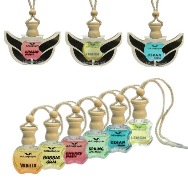 AUSWAHL Autoparfüm MEGA Autoduft-Flasche verschiedene Sorten Parfum Lufterfrischer Duft für Auto