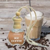MEGA Autoparfüm ICE COFFEE intensiver Kaffee Duft Autoduft Anhänger Düftöl Lufterfrischer für Auto