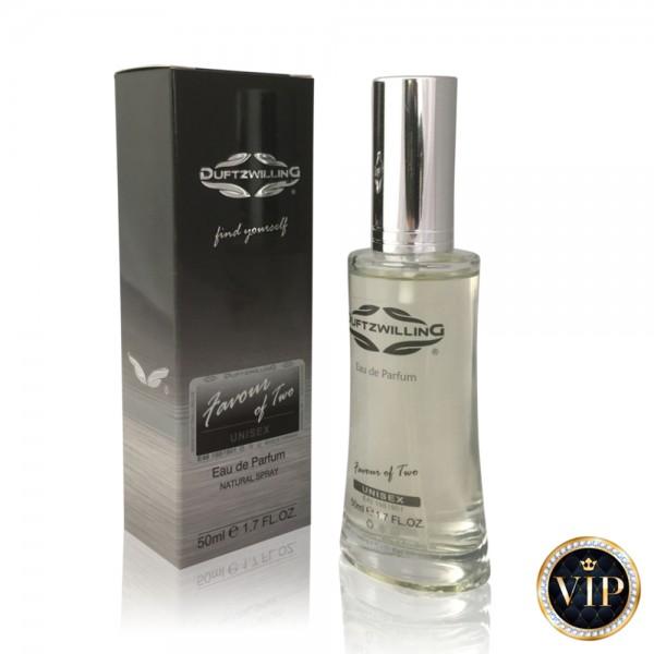 FAVOUR OF TWO - Eau de Parfum für DAMEN & HERREN   VIP Unisex